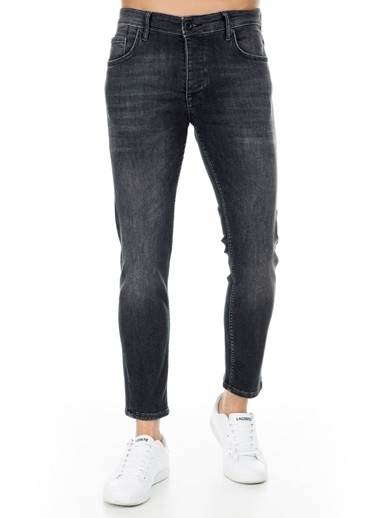 Five Pocket Jean Pantolon Gri